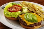 Gordon Biersch Burger